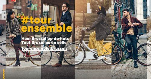 Tour ensemble: heel Brussel op de fiets!