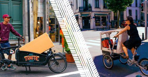 Cairgo Bike stimuleert het gebruik van de bakfiets in Brussel